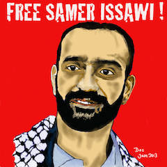 New poster Samer Issawi