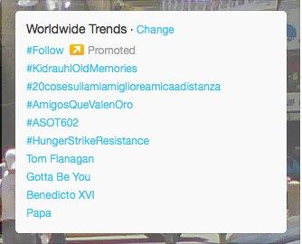 #HungerStrikeResistance trending on Feb 28