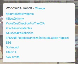 #Justice4Palestinians trending on Feb 27