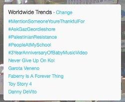#PalestinianResistance trending on Feb 19