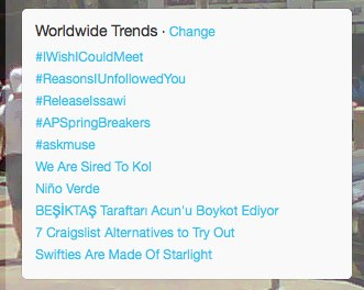 #ReleaseIssawi trending on February 18