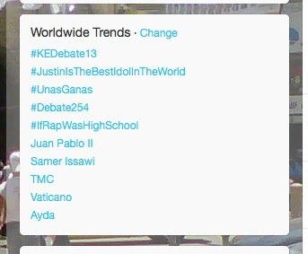 Samer Issawi trending on February 12