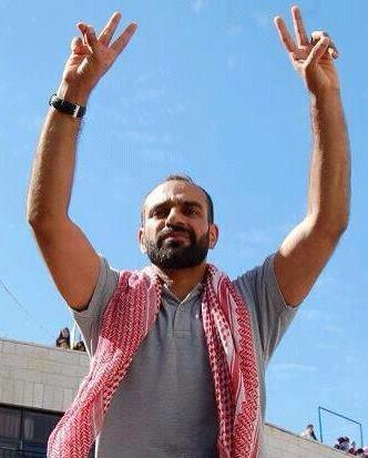Samer Issawi after his previous release